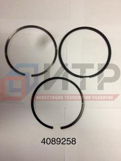 Кольца поршневые к-т на ц-р 102мм (ISF3.8) 4089258, , компл