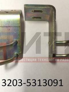 Упор замка моторного люка левый (ПАЗ-3204) 3203-5313091