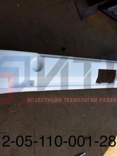 Бампер задний АБС (ПАЗ-Вектор) без заглушки  320412-05-110-001-2804010