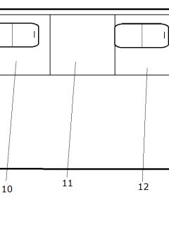 Стекло закаленное для ТС (бронзовое 5 мм с ШТП) 320414-05-110-5403036-01 (927*1031)