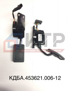 Модуль педальный КДБА 453621.006-12