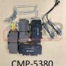 Колодки тормозные ГАЗон Next (CAMPAR) крепл.колодок+датчик износа (к-т 4 шт) СМР-5380