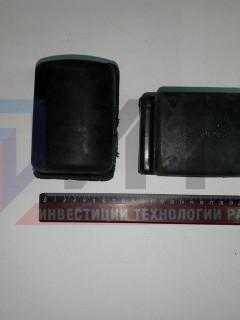 Опора (подушка большая) задней рессоры СЗРТ  53-2912431