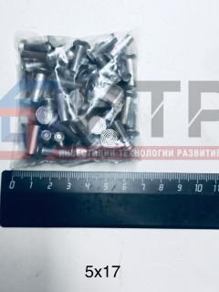 Заклепки алюминиевые ф5х17мм (64 шт.)