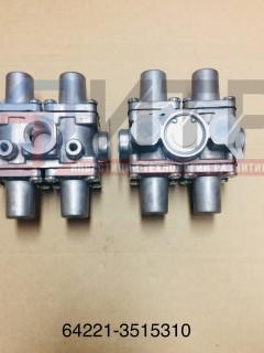 Клапан защитный 4-х контурный ZTD (64221-3515310) 100-3515410