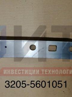 Уголок крепления панели задних фонарей левый 3205-5601051