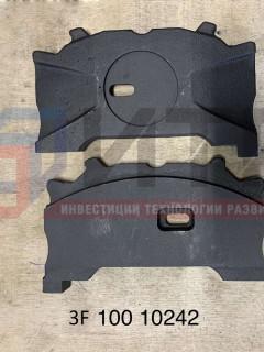 Р/к суппорта Пластина упорная с пазом правая (WABCO) 3F10010242