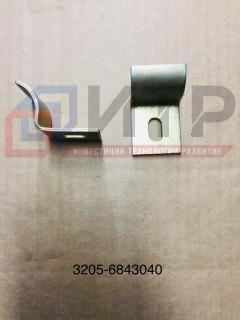 Скоба крепления сидений (уп 100) 3205-6843040