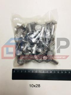 Заклепки алюминиевые ф10х28мм (64 шт.)