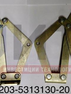 Механизм рычажный переднего люка правый 3203-5313130-20
