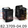 Клавиша включения вентилятора отопителя (ПАЗ 3205) 82.3709-04.09