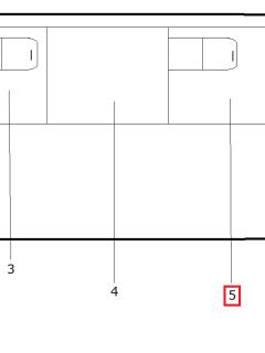 Стекло окна боковины с форточкой широкое М320414-05-110-5403120-01 (1385*1031)